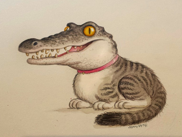 feral croc