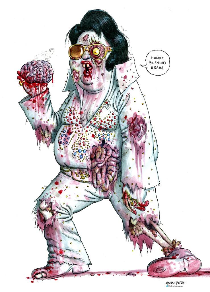 Zombie Elvis lge